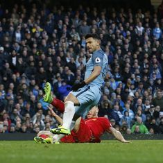 The Man City-Liverpool clash was fast and furious, but without much precision