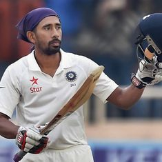 Hope to be back by mid-December for Ranji Trophy, says Wriddhiman Saha