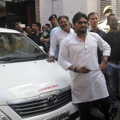 Why charge accused in Chandigarh stalking case with abduction, asks Union minister Babul Supriyo