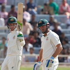 Ranchi Test, Day 5: Shaun Marsh and Peter Handscomb's 124-run stand gives Australia unlikely draw