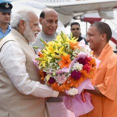 Unlike any other BJP chief minister, Yogi Adityanath has the potential to upstage Modi
