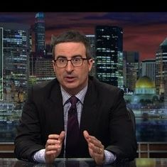 Watch John Oliver explain the US Budget (and wish someone would do it for India's too)