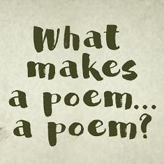 Watch: What is poetry, exactly? Is an answer even possible?