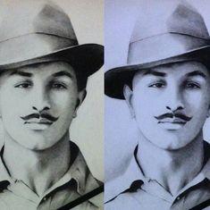 भगत सिंह के इन शब्दों को पढ़िए और फिर इस तिरछे हैट वाले मुखड़े को देखिए