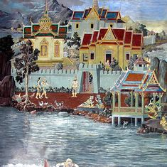 थाईलैंड के सबसे प्रतिष्ठित बौद्धमंदिर की दीवारों पर रामायण के चित्रों की कहानी क्या है?