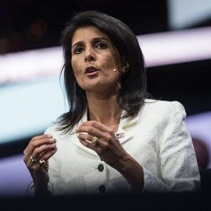Women who accused President Donald Trump of sexual misconduct should be heard, says Nikki Haley