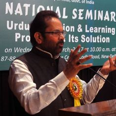 Election Commission warns Mukhtar Abbas Naqvi for 'Modiji ki Sena' remark