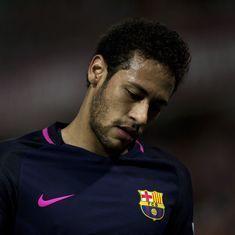 Barcelona forward Neymar handed three-match ban, to miss El Clasico against Real Madrid