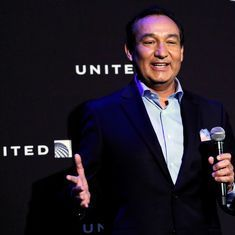 United Airlines parent company's shares drop over video of passenger being dragged off flight