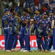 Mumbai Indians hand reigning champs Sunrisers Hyderabad their first defeat of the season
