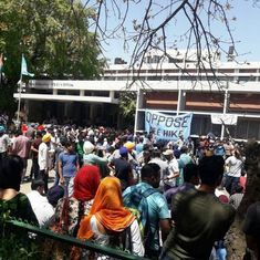 Panjab University protest: Police drop sedition charges against 66 students