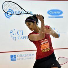 Joshna Chinappa goes down fighting in quarter-final of the women's world squash championship