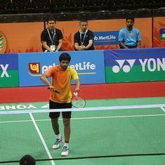 B Sai Praneeth upsets Tanongsak Saensomboonsuk to enter Singapore Open semi-finals