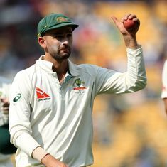 I am more than happy to shake Virat Kohli's hand: Australia's Nathan Lyon