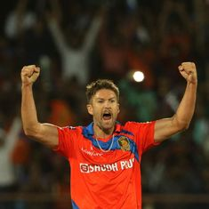 Batting-heavy Gujarat Lions find their bowling hero in Andrew Tye