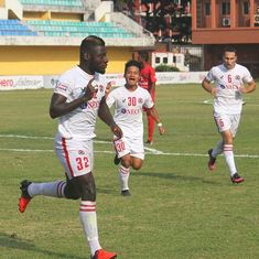 Aizawl FC beat Churchill Brothers to return to the top of the table