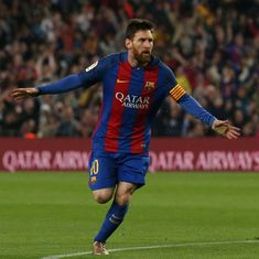 Lionel Messi's contract extension 'signed' by agent, claims Barcelona president