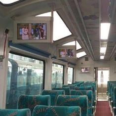 Suresh Prabhu flags off train with new vistadome coaches along scenic Visakhapatnam-Araku route