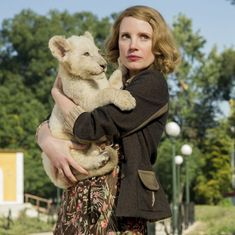 'The Zookeeper's Wife' film review: An overly earnest story of resistance to the Nazis