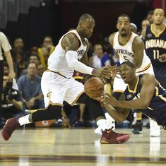 NBA Playoffs: Cleveland Cavaliers beat Indiana Pacers 117-111 to take 2-0 lead