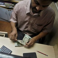 After Friday's two-year high, Indian rupee weakens to 63.73 against US dollar