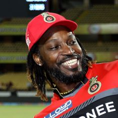 'The Universe Boss is still here and still alive': Eyes wide open, Chris Gayle enters Club 10,000