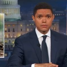 Watch Trevor Noah's game on 'The Daily Show' to predict where World War III might begin