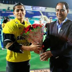 Savita Punia, an Indian hockey veteran, is still forced to rely on her parents for financial support