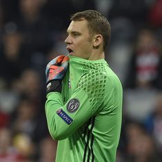 Bayern Munich's Manuel Neuer ruled out for the season after fracturing foot during Real Madrid loss
