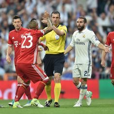 Bayern Munich players removed by police from referee's chamber following Real Madrid defeat: Report