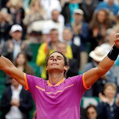 Rafael Nadal beats compatriot Albert Ramos-Vinolas to clinch his 10th Monte Carlo Masters title
