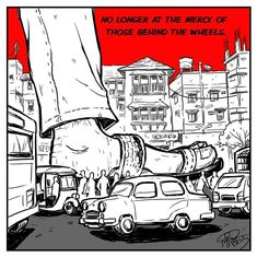 Watch: This comic and animation series is fighting for your right to walk safely on India's streets