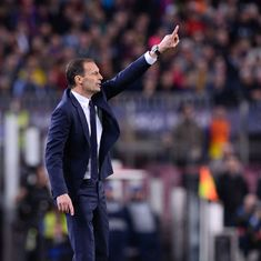 'We could've played for a whole day and not conceded' against Barcelona: Juventus coach Max Allegri