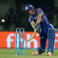 Mumbai Indians make mockery of 199-run target to thump Kings XI Punjab by 8 wickets