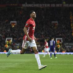 Rashford's extra-time winner against Anderlecht takes Manchester United into Europa League semis