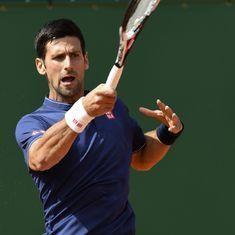 Six months after injury layoff, Novak Djokovic to make comeback against Bautista Agut
