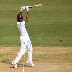 Roston Chase leads West Indies fightback after Mohammad Amir strikes early on Day 1