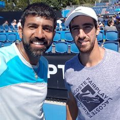 Rome Masters: Bopanna-Cuevas shock seventh seeds to seal quarter-final berth