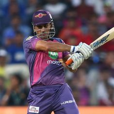 'As long as Dhoni was at the crease, we knew RPS would win': Dhawan all praise for former skipper
