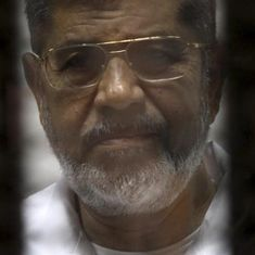 Former Egyptian President Mohammed Morsi sentenced to three years in prison for insulting judiciary