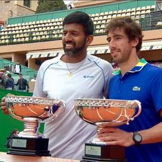 Rohan Bopanna-Pablo Cuevas clinch doubles title at Monte Carlo Masters