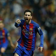 Lionel Messi hits last-minute winner to seal Barcelona's thrilling El Clasico win