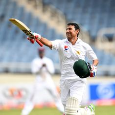 Younis Khan becomes first Pakistani to reach 10,000 runs as they consolidate in first Test