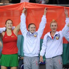 Belarus, USA reach final, as drama over Ilie Nastase's suspension overshadows Fed Cup weekend