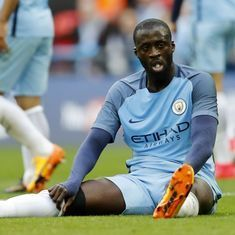 'I'd prefer to play Manchester derby without a referee': Yaya Toure fumes after FA Cup exit