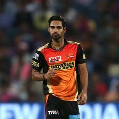 Bhuvneshwar Kumar one of the best bowlers in IPL history, says spin legend Muttiah Muralitharan