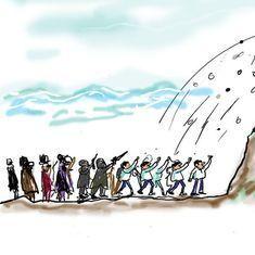 कार्टून : बात बिना बात न बनेगी