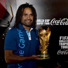Having a separate ISL and I-League will help India because of more players: Christian Karembeu