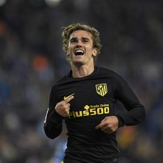 Champions League: Antoine Griezmann gives Atletico Madrid reasons to stay positive