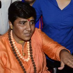 Election watch: Pragya Singh Thakur retracts her comments about Hemant Karkare, apologises